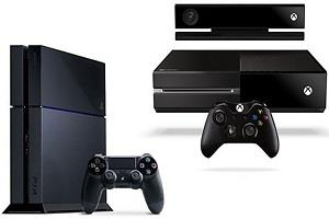 ps4 and xbox one console